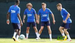 فيديو: احكم بنفسك.. ما هو أروع هدف بتدريبات برشلونة؟