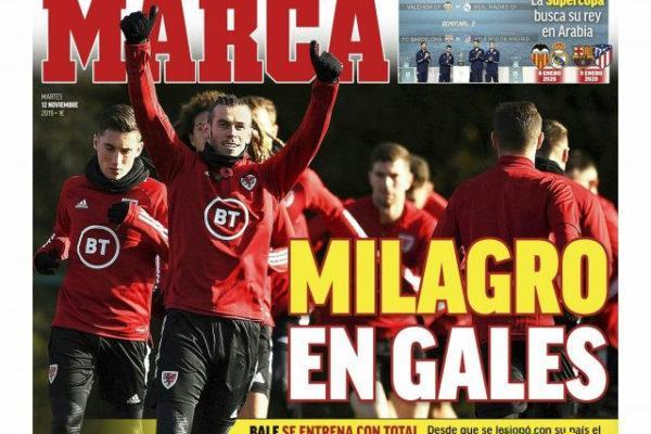غلاف الماركا : معجزة ويلز