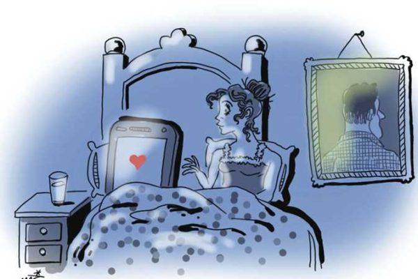 فضفضة حرة: لا أستطيع قطع علاقتي برجل على «فيس بوك»