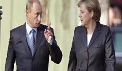 بوتين وميركل يعقدان مباحثات ثنائية قبل قمة باريس