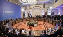 """انطلاق الجولة الـ14 لـ""""مباحثات أستانا"""" حول سوريا"""
