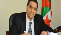 المرشح الجزائري عبد العزيز بلعيد يدلي بصوته في الانتخابات الرئاسية
