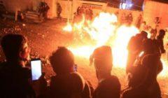 اشتباكات ليلية بين المتظاهرين العراقيين وقوات الأمن في كربلاء