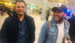 البرازيلي داني ألفيش يصل إلى مطار القاهرة الدولي