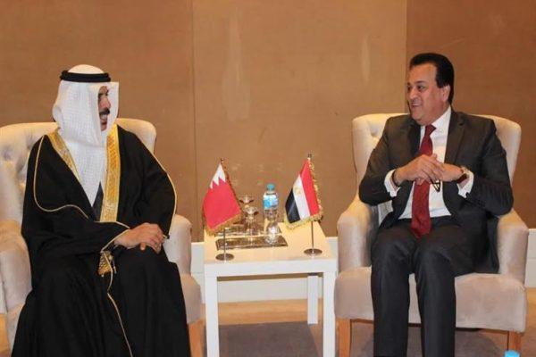 للتعاون الثقافي والتعليمي.. وزير التعليم العالي يلتقي نظيره البحريني