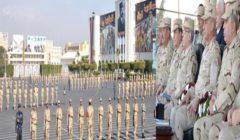 وزير الدفاع يتفقد الكلية الحربية ويلتقى الطلبة المستجدين وأسرهم