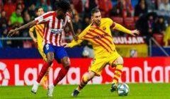 """النشرة الرياضية..ميسي يقود برشلونة لصدارة الليجا.. والأهلي يحدد 4 طلبات في شكواه لـ""""كاف"""""""