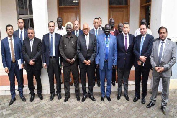 هشام الحصري يطالب بمد جنوب السودان بالخبرات المصرية في مجال الزراعة