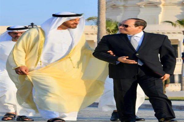 """الرئيس السيسي يهنئ """"بن زايد"""" هاتفيًا بالذكرى الـ48 لتأسيس الإمارات"""