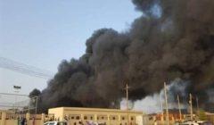 قتلى وجرحى جراء حريق بمصنع للسيراميك في السودان