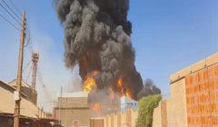 الخارجية: مصرع 4 مصريين في حريق مصنع السيراميك بالسودان