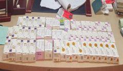 """ضبط 1600 قرص مخدر داخل علب """"برفانات"""" بحوزة راكب في المطار"""