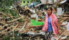 """""""غرقًا وصعقًا بالكهرباء"""".. 13 قتيلًا في الفلبين جراء الإعصار كاموري"""