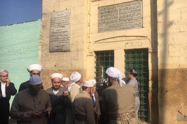 جولة لأئمة كردستان العراق للمزارات الدينية بالقاهرة