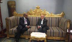 """""""فايق"""" يلتقي رئيس الديوان الوطني لحقوق الإنسان بالكويت"""