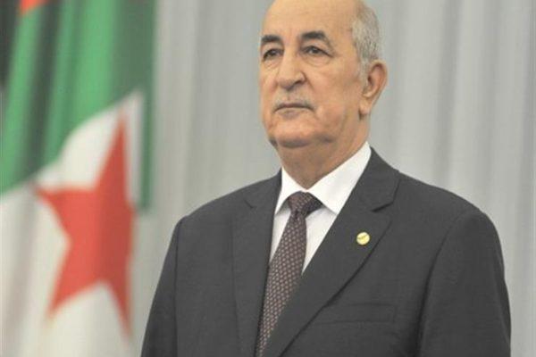 الرئيس الجزائري يلغي أول نشاط رسمي له