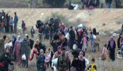 المرصد السوري يكشف عدد النازحين من إدلب خلال أسبوع بسبب العدوان التركي