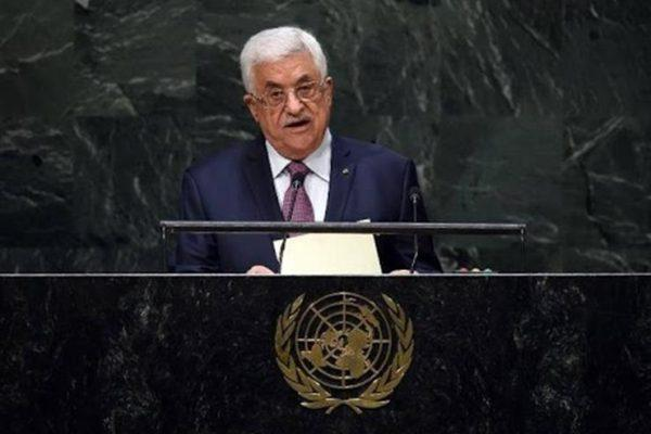 """عباس يندد بهجمة إسرائيل """"المستمرة"""" ضد الفلسطينيين خاصة في القدس"""