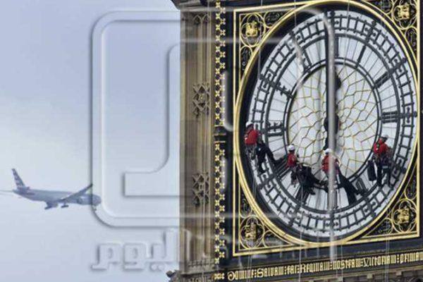 ساعة بيج بن تدق من جديد في ليلة رأس السنة وسط أعمال ترميم