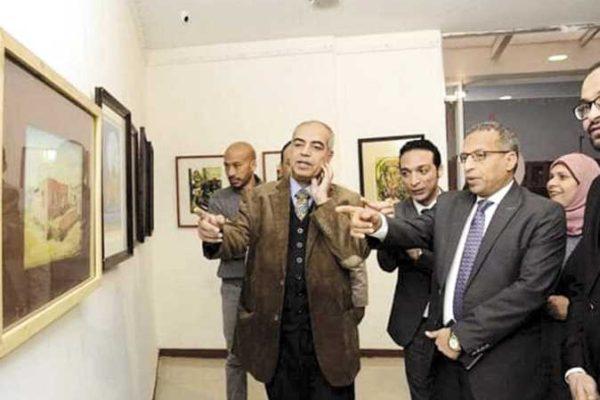 «طريق الكباش» يحتضن أكبر معرض لجامعة الأقصر