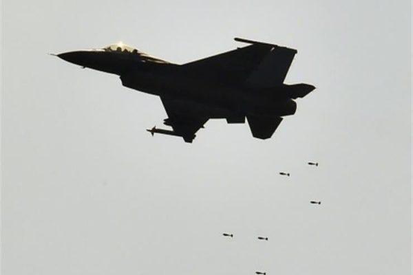 طائرات اف16العراقية تقصف مواقع لداعش في كركوك