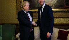 """وزراء ايرلنديون وبريطانيون يشيدون باستعادة اتفاق تقاسم السلطة """"التاريخي"""""""
