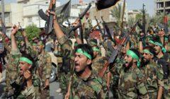 المئات من أنصار فصائل الحشد الشعبي العراقي تتجمع امام مقراتها في كربلاء