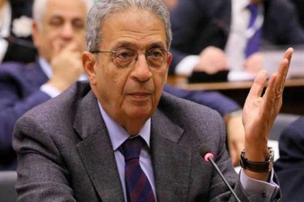 عمرو موسى: الأمة العربية تمر بأخطر مرحلة في تاريخها