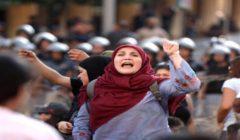 الصليب الأحمر اللبناني: 165 مصابًا خلال الاشتباكات بين المتظاهرين وقوات الأمن
