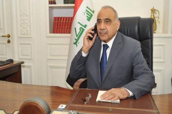 عبد المهدي يأمر باعتقال مطلق الصواريخ على السفارة الأمريكية في بغداد