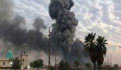 اصابة 3 جنود عراقيين في قصف لقاعدة بلد الجوية