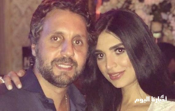 """بالصور .. الظهور الأول لزوجة الفنان """" هشام ماجد """" - شاهدوا جمالها"""