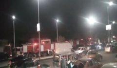 اندلاع حريق في عائمة بكورنيش الجيزة.. والدفع بـ7 سيارات إطفاء