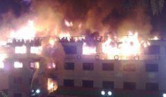 ليست الأولى.. الحماية المدنية تخمد حريق عائمة بكورنيش الجيزة