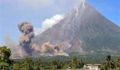 وفاة شخصين وفرار أكثر من 82 ألف بعد ثوران بركان بالفلبين