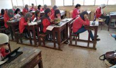 التعليم: 514 ألفًا بثانية الثانوي أدوا امتحان الجبر والتفاضل وحساب المثلثات إلكترونيًا