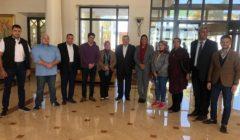 وزير الدولة للإعلام يزور وفد مجلس النواب خلال تفقده حمام موسى بطور سيناء