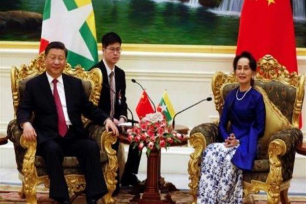 الصين وبورما تشددان على تحالفهما رغم الانتقادات الدولية اثر أزمة الروهينغا