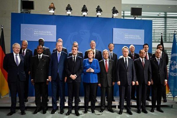 مؤتمر برلين: اتفاق على حظر السلاح واتخاذ خطوات لتحقيق السلام