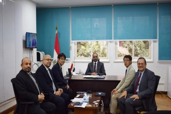 نائب وزير الإسكان للبنية الأساسية يلتقي ممثلي هيئة التعاون الدولي الياباني