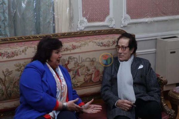 وزيرة الثقافة تعلن المشاركة في دعم جوائز مؤسسة فاروق حسني