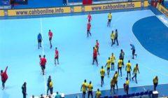 مصر تفوز على أنجولا وتنتظر الخاسر من تونس والجزائر بنصف نهائي أفريقيا لليد