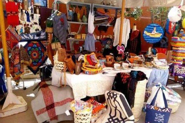 تنمية المشروعات يشارك في المعرض العقاري بدبي بجناح للمنتجات اليدوية