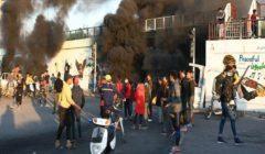 مصدر أمني عراقي: حالات اختناق في مصادمات بالناصرية