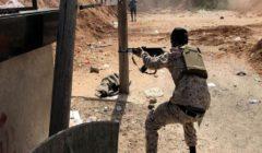 اشتباكات عنيفة بين الجيش الليبي وقوات الوفاق جنوبي مصراتة