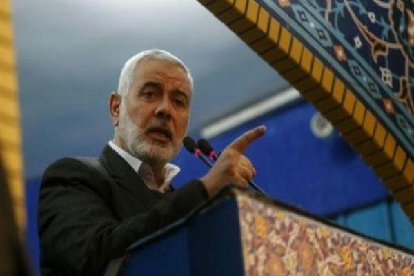 """إسماعيل هنية: الخطة الأمريكية للسلام """"لن تمر"""""""