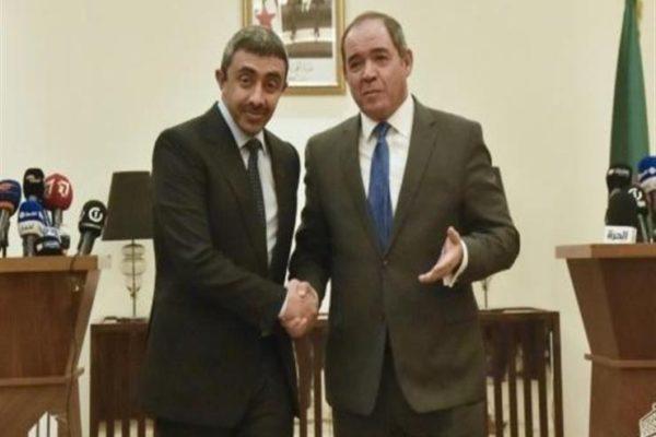 الجزائر تواصل مشاوراتها حول الأزمة الليبية مع دولة الإمارات