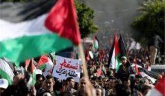 مواجهات بين فلسطينيين وقوات الاحتلال بعد إعلان صفقة القرن (فيديو)