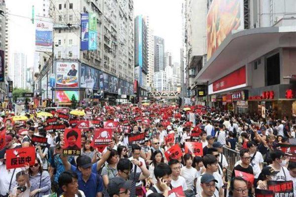 رسالة تفاؤل يطلقها مكتب اتصال هونج كونج مع الصين