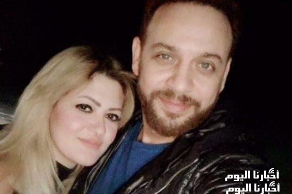 شاهدوا زوجة الفنان مصطفى قمر في أول ظهور لها مرتدية الحجاب بصحبة زوجها والمتابعون يثنون على جمالهما